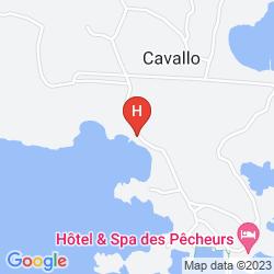 Mappa HOTEL & SPA DES PECHEURS