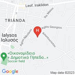 Mappa ALEA HOTEL APARTMENTS