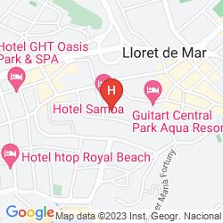 Mappa APARTHOTEL GUITART CENTRAL PARK RESORT & SPA
