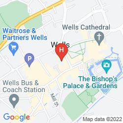 Mappa BEST WESTERN SWAN HOTEL