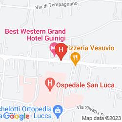 Mappa BEST WESTERN GRAND HOTEL GUINIGI