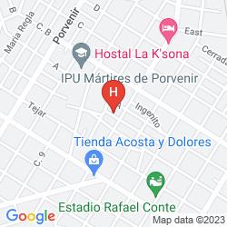 Mappa VILLA LOS PINOS
