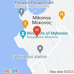 Mappa IBISCUS HOTEL MYKONOS