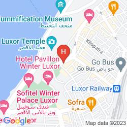 Mappa IBEROTEL LUXOR