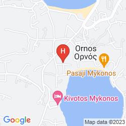 Mappa ELENI'S STUDIOS ORNOS