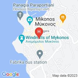 Mappa THARROE OF MYKONOS
