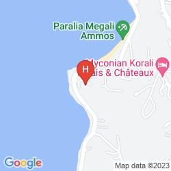 Mappa VILLA MARGARITA