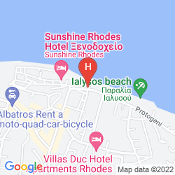 Mappa SUN BEACH RESORT COMPLEX