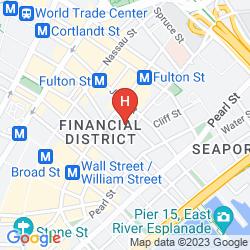 Mappa GILD HALL - A THOMPSON HOTEL