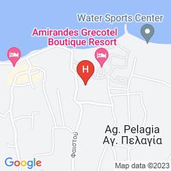 Mappa AKS MINOA PALACE