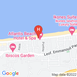 Mappa RETHYMNO MARE ROYAL