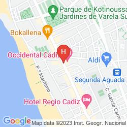 Mappa BARCELO CADIZ