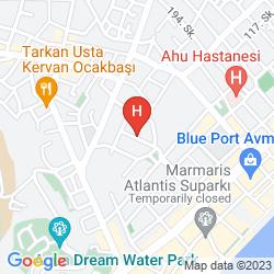 Mappa BLUE PALACE APART