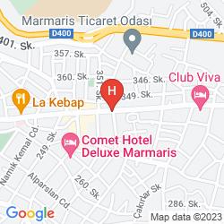 Mappa CLUB ANTIQUE PALACE