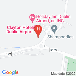 Mappa CLAYTON HOTEL DUBLIN AIRPORT