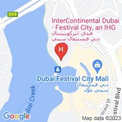 Mappa INTERCONTINENTAL DUBAI FESTIVAL CITY