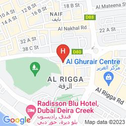 Mappa AL JAWHARA METRO