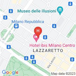 Mappa MERCURE MILANO CENTRO
