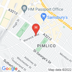 Mappa OYO FLAGSHIP HUTTONS