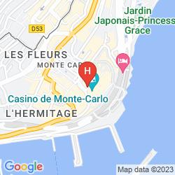 Mappa DE PARIS MONTE-CARLO