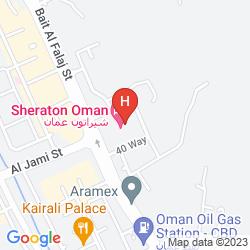 Mappa SHERATON OMAN