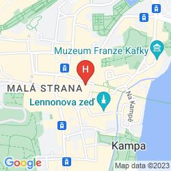 Mappa RESIDENCE U CERNEHO ORLA
