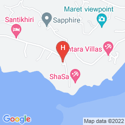 Mappa CENTARA VILLAS