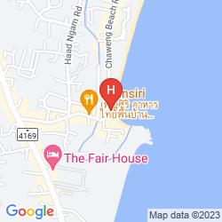 Mappa SAMUI PARADISE CHAWENG