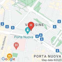 Mappa CERVO MILAN