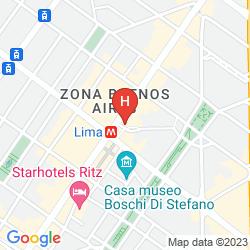 Mappa BEST WESTERN PLUS HOTEL GALLES