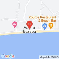 Mappa VATERA BEACH