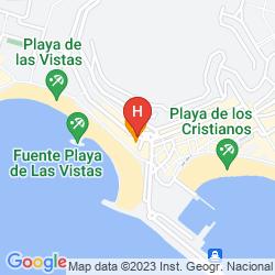 Mappa APARTAMENTOS LAS FUENTES