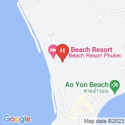 Mappa PANWA BOUTIQUE BEACH RESORT