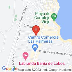 Mappa APARTAMENTOS FUENTEPARK