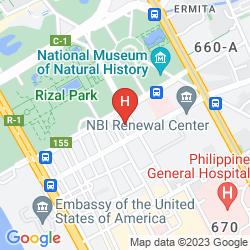 Mappa WATERFRONT PAVILION HOTEL AND CASINO MANILA