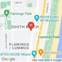 Mappa WASHINGTON PARK