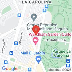 Mappa RIO AMAZONAS HOTEL