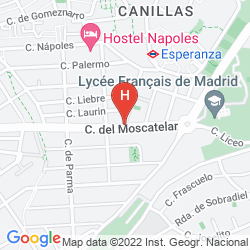 Mappa A&H SUITES MADRID