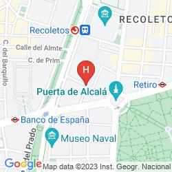 Mappa DURVAL PUERTA DE ALCALA