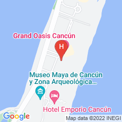 Mappa SEADUST CANCUN FAMILY RESORT