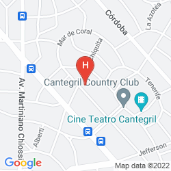 Mappa BARRADAS PARQUE