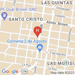 Mappa VILLA SOFIA RESORT & SPA