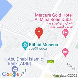 Mappa HOLIDAY INN EXPRESS DUBAI - JUMEIRAH