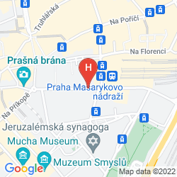 Mappa THE GRAND MARK PRAGUE