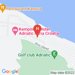 Mappa KEMPINSKI ADRIATIC