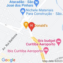 Mappa BRISTOL DOM RICARDO HOTEL