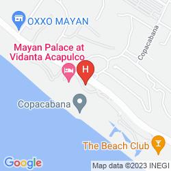 Mappa GRAND MAYAN ACAPULCO