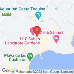 Mappa H10 LANZAROTE GARDENS