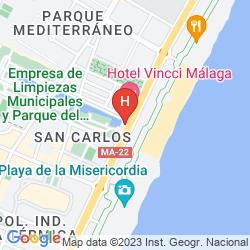 Mappa VINCCI MALAGA