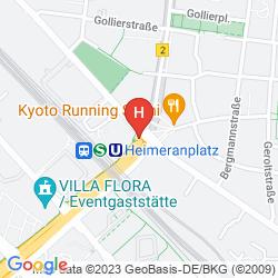 Mappa SHERATON MUNICH WESTPARK